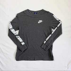 Nike Long-Sleeve Logo Tee